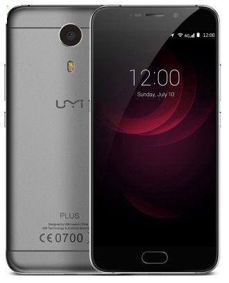 Umi Plus   5,5 Zoll Smartphone mit Touch ID für 138,35€