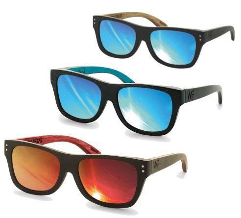 Wood Fellas polarisierende Holz Sonnenbrillen für 34,95€ (statt 50€)
