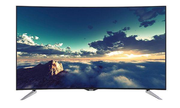 Schnell! Panasonic TX 55CRW434   55 Zoll Curved UHD Fernseher für 882,41€ (statt 1.199€)