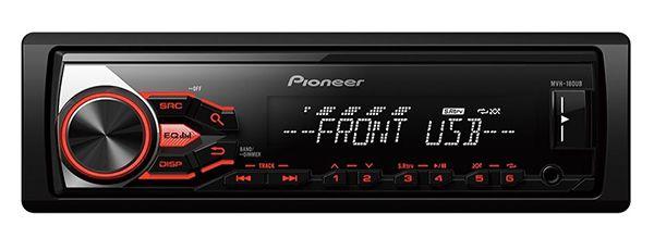 Pioneer MVH 180UB Autoradio für 33,45€ (statt 47€)