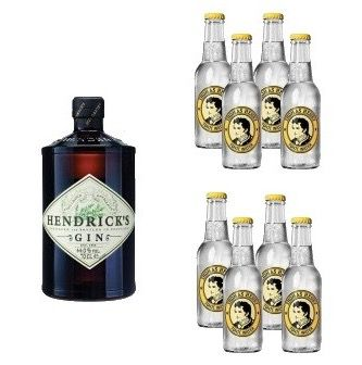 2x Hendricks Gin + 16x Thomas Henry Tonic Water für 52€ (statt 80€)