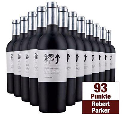 12 Flaschen Barahonda Campo Arriba Yecla Rotwein für 72,95€