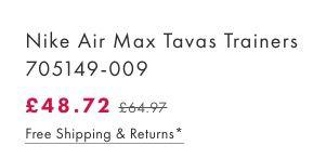 Bildschirmfoto 2016 09 26 um 13.22.14 Nike Air Max Tavas Trainers Herren Sneaker für 56€ (statt 89€)