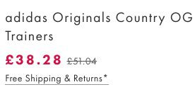 Bildschirmfoto 2016 09 26 um 14.44.00 adidas Originals Country OG Trainers Sneaker für 44€ (statt 66€)