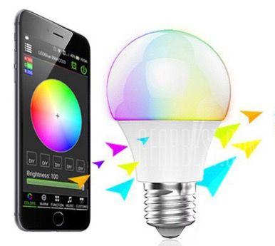 Magic Blue UU Bulb   E27 Bluetooth LED Birne für 4,54€ (via App steuerbar)