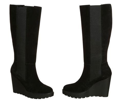 Schnell! Calvin Klein Sequin Suede Damen Stiefel für 111,99€ (statt 171€)