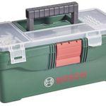 Bosch Werkzeugkasten inkl. Bohrer- und Bit-Sortiment 59-teilig für 14,95€ (statt 29€)