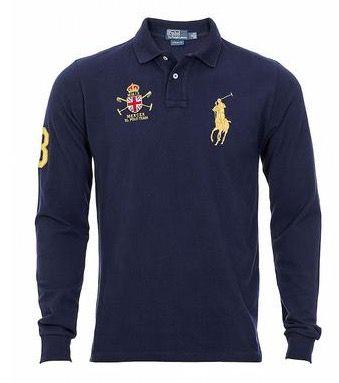 Ralph Lauren Langarm Poloshirt für 52,90€(statt 70€)