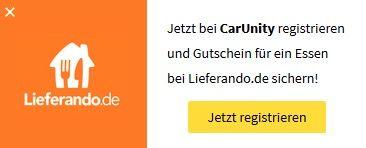 Bildschirmfoto 2016 09 30 um 12.46.34 7€ Lieferando Gutschein mit nur 12€ MBW   gratis Anmeldung bei CarUnity nötig