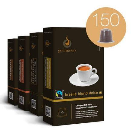 Gourmesso Probierbox mit 150 Kaffeekapseln für 29,95€ (statt 35€)