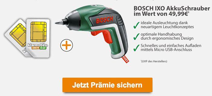 Bosch IXO Basic Akkuschrauber für 3,90€ (statt 38€)   genau lesen!