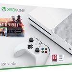 Xbox One S 500GB + Battlefield 1 + 2. Controller für 299€