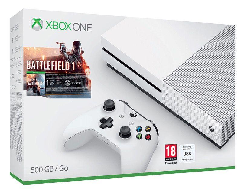 Bildschirmfoto 2016 10 26 um 14.22.08 Xbox One S 500GB + Battlefield 1 + 2. Controller für 299€