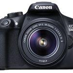 CANON EOS 1300D Spiegelreflexkamera + EF-S 18-55mm IS Objektiv für effektiv 283,99€ (statt 349€)
