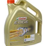 5 Liter Castrol EDGE 15669E Titanium FST LL 5W-30 für 33,99€ (statt 38€)