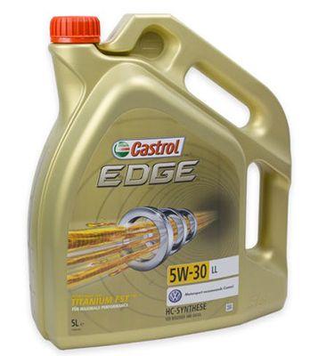 5 Liter Castrol EDGE 15669E Titanium FST LL 5W 30 für 33,33€ (statt 37€)