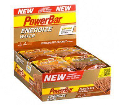 Powerbar Energize Wafer Bar (12x40g) für 8,99€ (statt 17€)   MHD 31.8.2017