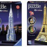 Ravensburger 3D Puzzle-Sets ab 12,93€ – z.B. Chrysler Building bei Nacht für 17,93€ (statt 32€)