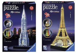 Ravensburger 3D Puzzle Sets ab 12,93€   z.B. Chrysler Building bei Nacht für 17,93€ (statt 32€)