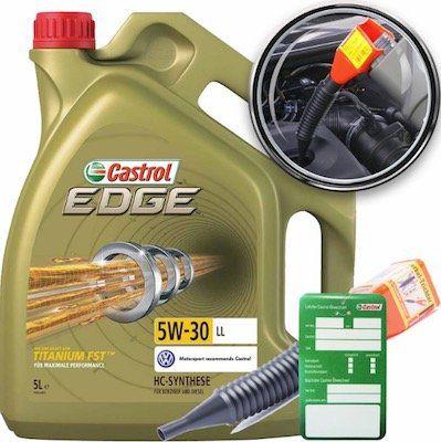 Castrol EDGE FST 5W 30 Motoröl 5 Liter + Trichter + Wechselanhänger für 35,05€ (statt 39€)
