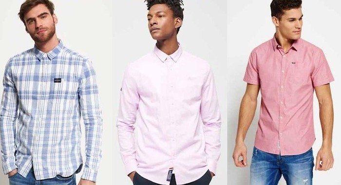 Superdry Herren Hemden (neue Modelle) für je 20,76€ (statt 32€)