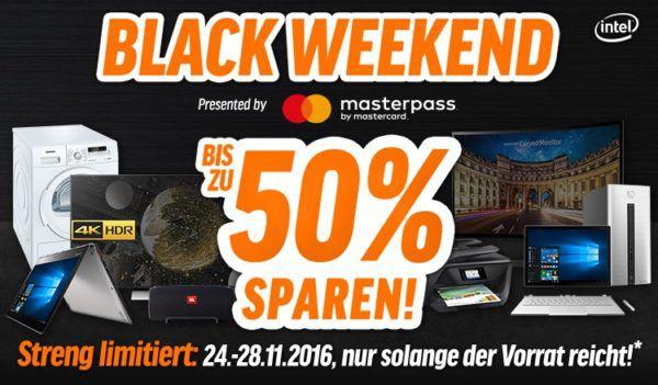 Bis zu 50% Rabatt beim Notebooksbilliger Black Weekend