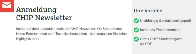 Chip Sonderheft NAS und Heimnetzwerk kostenlos (statt 9,95€)