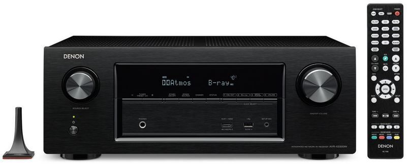 Prime Day: Denon AVRX3300W   7.2 Surround AV Receiver, 3D, Internetradio für 599€ (statt 684€)