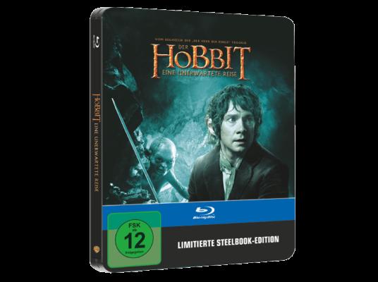 Der Hobbit: Eine unerwartete Reise im Steelbook (Blu Ray) für 5€