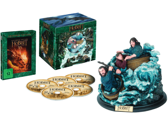 Der Hobbit Smaugs Einöde Extended Collection Edition 3D BD2D BD Blu ray e1474114647114 Entertainment Weekend Deals bei Saturn