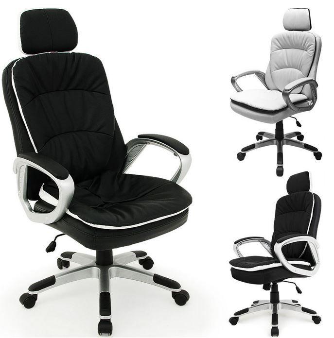 Deuba Schreibtischstuhl mit Kopfstütze Deuba Schreibtischstuhl mit Kopfstütze für 69,95€