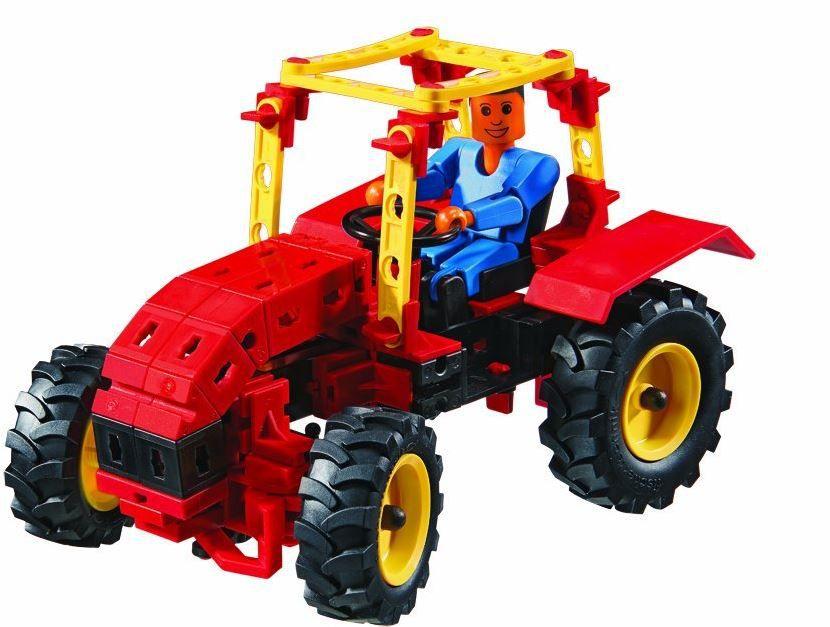 FISCHERTECHNIK 520397 Tractors Fischertechnik 520397   Tractoren Konstruktionsspielzeug statt 20€ ab 10€