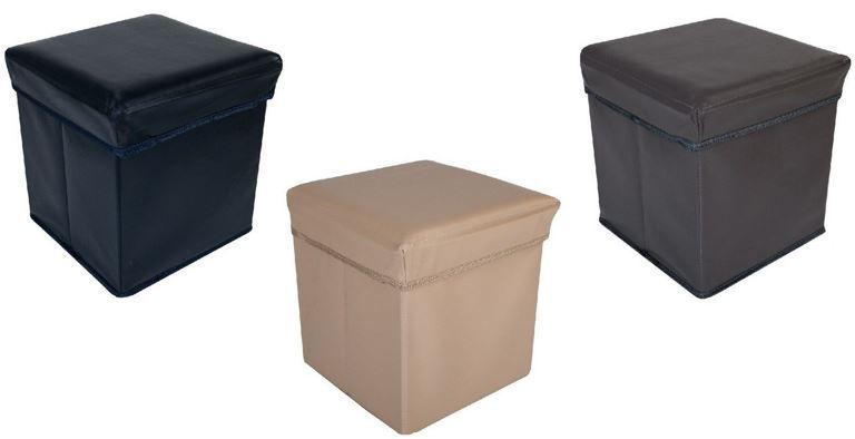Faltbarer Sitzwürfel TLW Tara   Sitz  und Aufbewahrungsbox (25l) für 9,95€