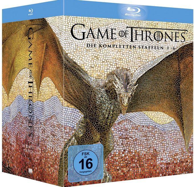 Game of Thrones Staffel 1 6 mit OT für 95,24€