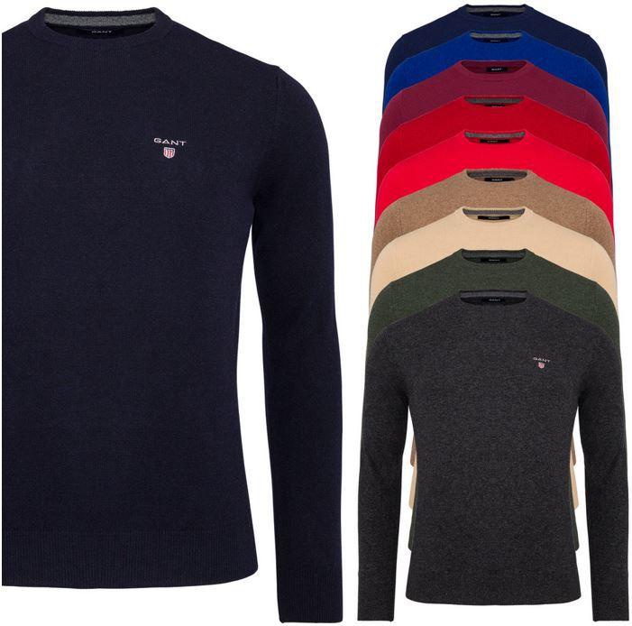Gant Herren Pullover GANT   Herren Pullover mit Kaschmir für 39,99€