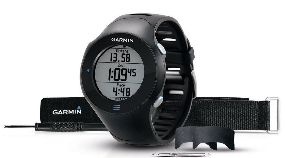Garmin Forerunner 610   GPS Laufuhr mit Herzfrequenz Brustsgurt für 129,99€