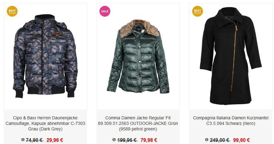 Jacken Sale Zengoes mit 70% Jacken Sale + 30% Extra Rabatt