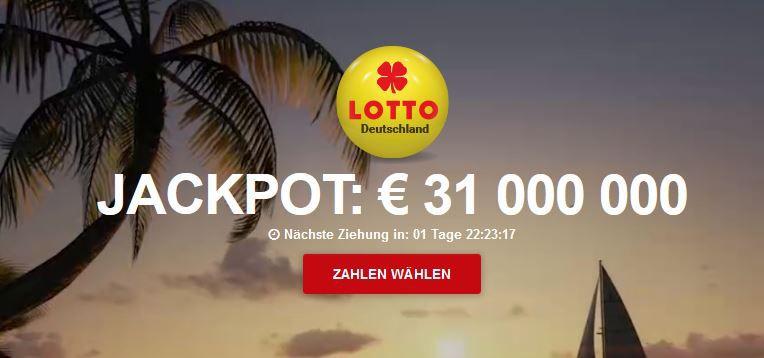 Jackpot 31.000.000€ Hammer! 271 Lotto Tipps bei 75 Anteilen (31 Mio € Jackpot) + 20 Rubbellose für 4,99€ (statt 15€)