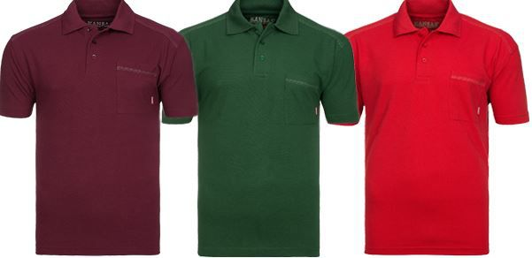 Kansas Poloshirts FRISTADS KANSAS Match Herren Poloshirts für nur 6,99€