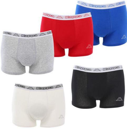 Kappa Herren Boxer neue Modelle im 8er Pack für 24,99€