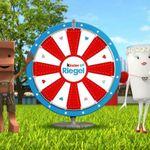 Kinderriegel Oktoberfest Glücksrad   kostenlos spielen und Preise gewinnen