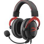 KINGSTON HyperX Cloud II Gaming Headset Gun Metal oder rot/schwarz für je 64€ (statt 81€)
