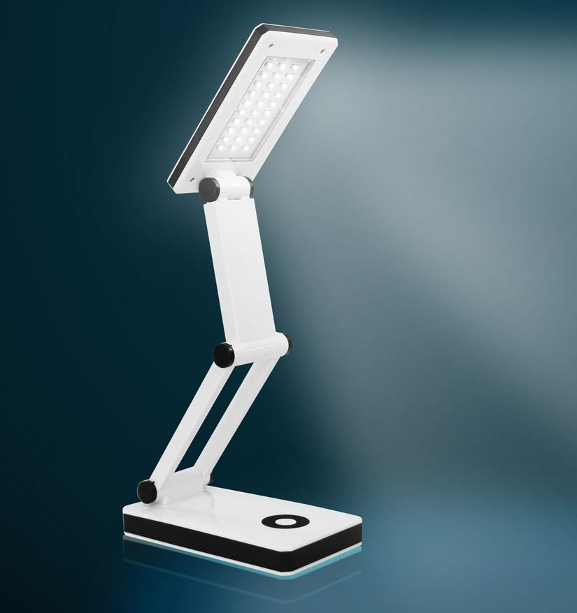 Eaxus 57380   klappbare LED Schreibtischlampe für nur 9,99€