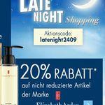 Karstadt Weekend Late Night mit z.B. 20% auf ausgewählte VOSSEN Sauna Artikel