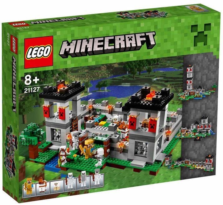 Lego Minecraft LEGO Minecraft Festung 21127 für 83€ (statt 93€)