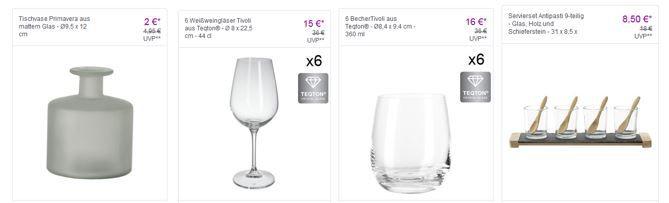 Leonardo: Dekoration, Gläser und Accessoires mit bis zu 60% Rabatt bei Vente Privee