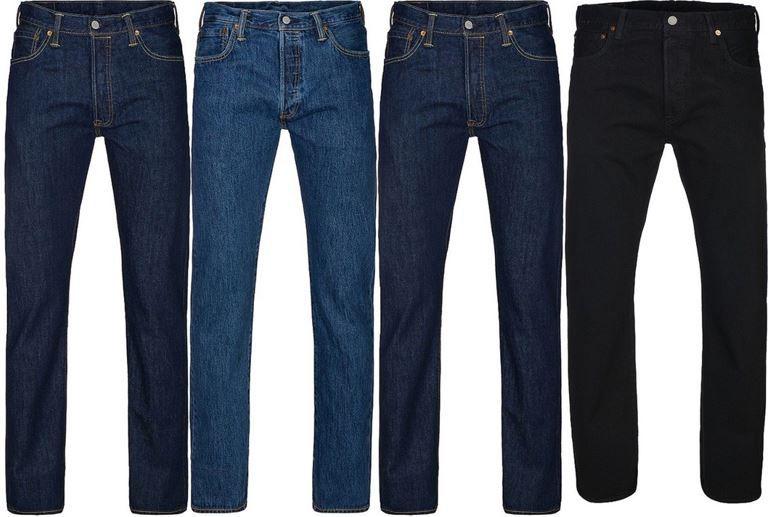 Levis 501 Original Levis 501 Original Fit Herren Jeans für je 54,99€