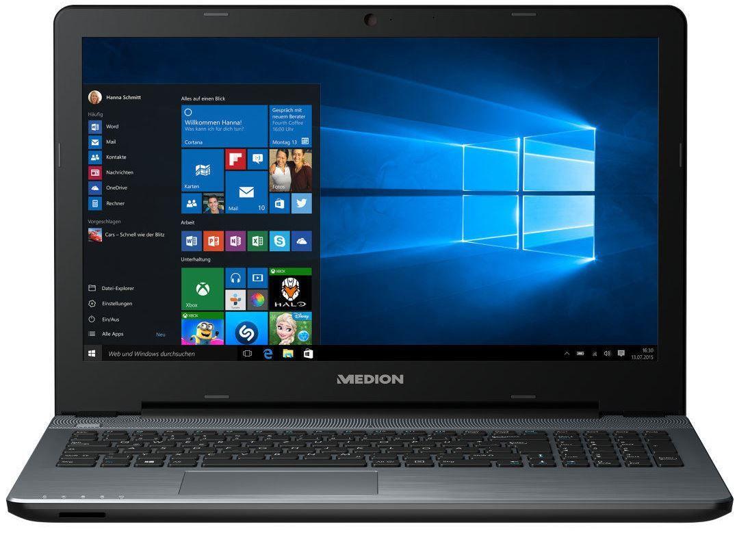MEDION AKOYA P6660 MD 99790   15,6 Notebook mit i3 und 1TB SSHD für 386,99€
