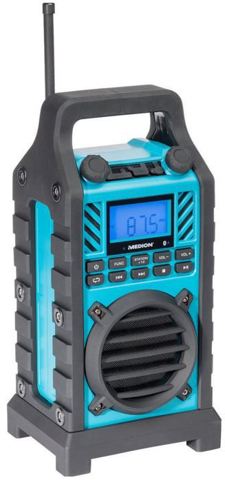 MEDION LIFE E66263   robustes Outdoorradio mit Bluetooth für 39,99€