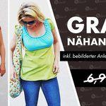 Nähanleitung und Schnittmuster für ein Kleid gratis